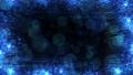 반짝 효과 프레임 (루프 가능) - 블루 / 블랙 배경 50385433