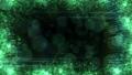 반짝 효과 프레임 (루프 가능) - 그린 / 블랙 배경 50385441