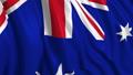 Australian flag in slow motion 50390739
