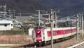 やくも13号 381系+8600系 団体列車 豪渓-日羽 50416830