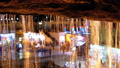 View at night from under the famous waterfall in the old town of Sharm El Sheikh, Egypt. 50445569
