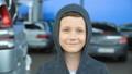 Portrait of an 8-year-old boy,full hd video 50454216