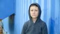 Portrait of an 8-year-old boy,full hd video 50454228
