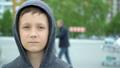 Portrait of an 8-year-old boy,full hd video 50454231