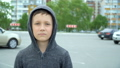 Portrait of an 8-year-old boy,full hd video 50454238