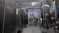 Low angle shot of a brewery equipped with a new modern stainless vessels. 50471052