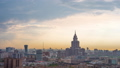 Timelapse residential urban area of Moscow city. Panorama of Urban buildings 50474830