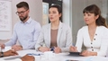recruiters having interview with employee 50483003