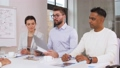 recruiters having interview with employee 50483014