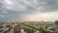 Panoramic view of the building from the roof of center Moscow 50499071
