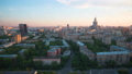 Day to Night Time Lapse of Moscow residential Skyscrapers 50499077
