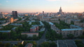 Day to Night Time Lapse of Moscow residential Skyscrapers 50499079
