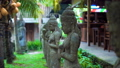 Close up woman statue Indonesian-style, Fairy statue in the garden, lady in the garden, Beautiful 50500931