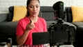 女の人 女性 メイクアップの動画 50522263