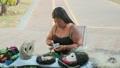 Native Artisan Indigenous Woman In Panama Fair 50522269