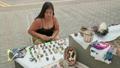 Panama Artisan Selling Souvenirs Handmade Objects 50522273