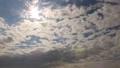 太陽きらり、細かな雲が流れる、令和元年5月7日の空。タイムラプス動画 50568506