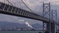 瀬戸大橋の望む番の州臨海工業地帯の昼間の風景 50569970