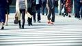 出勤、ビジネスマン、ビジネス、歩く、足元、革靴、靴、脚、足、ハイヒール、男性、女性、ビジネスウーマン 50579047