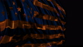 American flag made in cyber style in slow motion 50588758