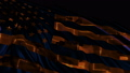 American flag made in cyber style in slow motion 50588761