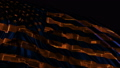 American flag made in cyber style in slow motion 50588762