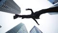 ジャンプするビジネスマン ローアングル 50624600