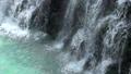 缓慢的瀑布Hakuho瀑布北海道美瑛 50631150