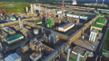 gas and oil refinery plant and heating station panorama 50642998