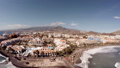 Aerial view of a beautiful island in the ocean. Tenerife, Spain, Canary Islands. The concept of a 50644459