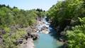 厳美渓 渓谷 渓流 水流 岩 50644488
