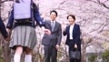 親子 家族 後ろ姿の動画 50648115