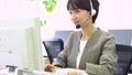 Operator business woman office image 50657108