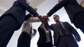 Business people group joining hands for friendship and teamwork concept. 50667033