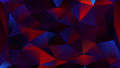 Triangulation shapes - triangles mosaic lights with shiny sparkles, 3d render background, computer 50698886