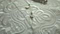 Wedding bridal jewelry on lace fabric 50701280