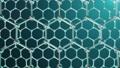 Nanotechnology like scientific background. Hexagonal surface. Graphene atom nanostructure, carbon 50705579
