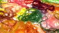 เส้นด้ายแนวนอนสีสันสดใสดอลลี่ 50716989