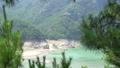 산 아래 내려다 보이는 고요한 충주호 호숫가  50722940