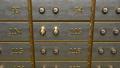 Fine gold bars inside safety deposit box 50747192