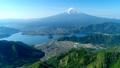 新道峠から富士山と河口湖を空撮 50748277