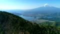 新道峠から富士山と河口湖を空撮 50748280