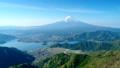新道峠から富士山と河口湖を空撮 50748282