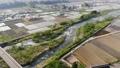 무인 항공기 공중 촬영 니가타 현 미나미 우 오누시 펼쳐지는 논밭 50749501