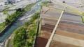무인 항공기 공중 촬영 니가타 현 미나미 우 오누시 펼쳐지는 논밭 50752574
