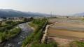 무인 항공기 공중 촬영 니가타 현 미나미 우 오누시 펼쳐지는 논밭 50752580