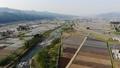 무인 항공기 공중 촬영 니가타 현 미나미 우 오누시 펼쳐지는 논밭 50752583
