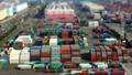 [Timelapse] container terminal tilt shift 50764510