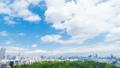 東京景觀遊戲中時光倒流市長綠化和藍天東京從天空樹到國家體育場的全景縮小 50767935