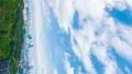 垂直材料東京風景Timelapse時間5月,5月綠色和藍天國家體育場區域 50768102